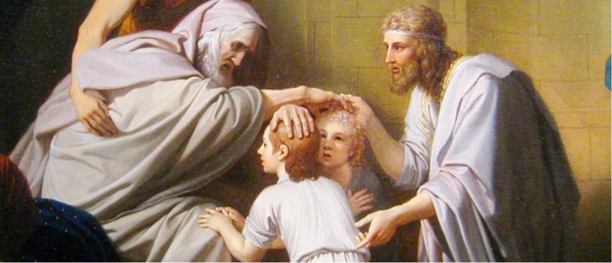 2021年05月09日主日证道:雅各祝福约瑟的两个儿子
